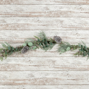 [CHRISTMAS] Eucalyptus and Pine Garland