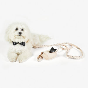 Saffiano Pet Leash - Blush