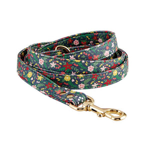 Saffiano Pet Leash - Floral