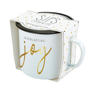 [CHRISTMAS] Enamel Mug - Joy Everlasting