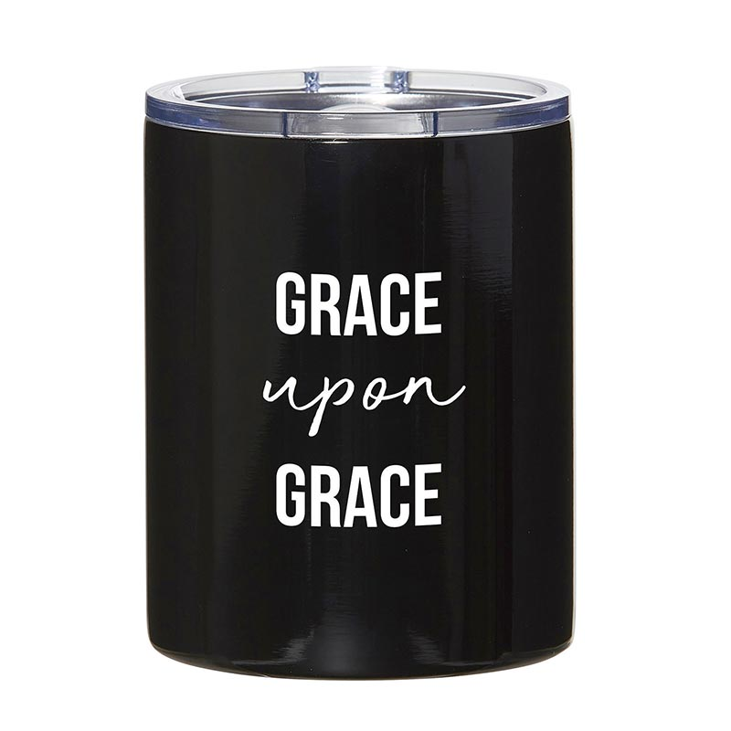 Stainless Steel Tumbler - Grace Upon Grace