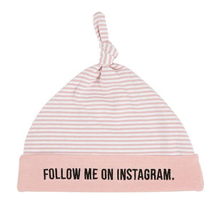 Follow Me on Instagram Baby Hat, 6-12 Months