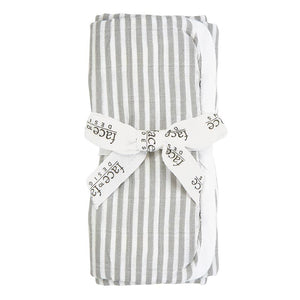 Gray & White Muslin Burp Cloths, Assorted
