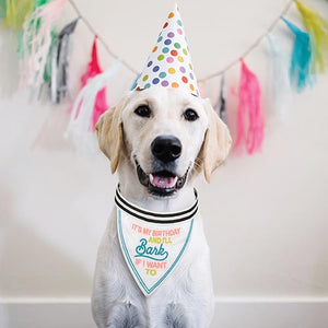 Pet Bandana - It's My Birthday And I'll Bark If I Want To