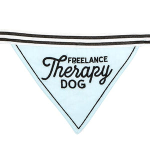 Pet Bandana - Freelance Therapy Dog