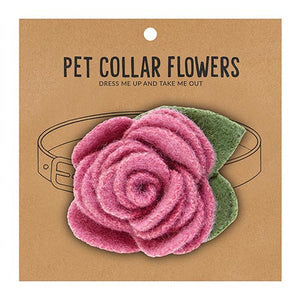 Small Pet Collar Flower - Orchid