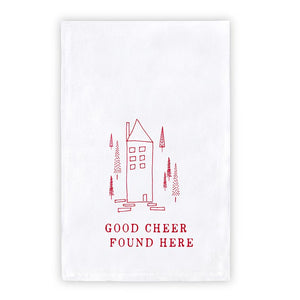 Holiday Towel - Good Cheer Found Here