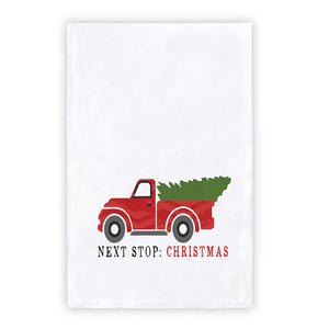 Holiday Towel - Next Stop Christmas