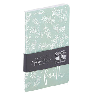 Notepad Set - Faith Can Move Mountains