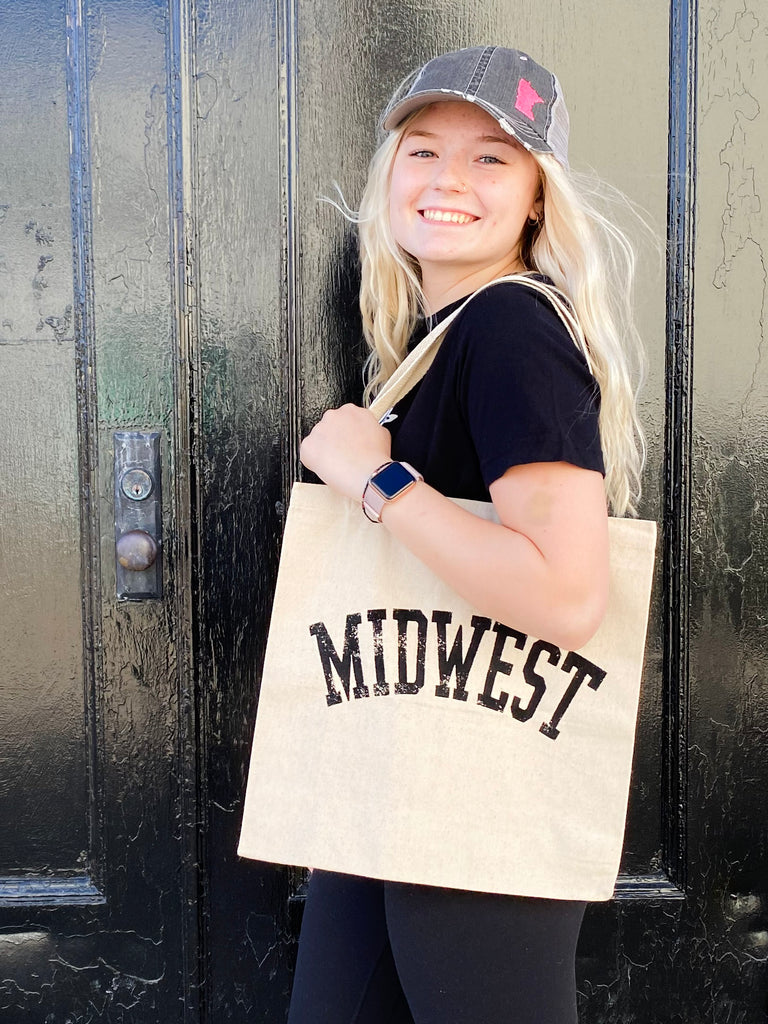 Canvas Tote Bag - Midwest