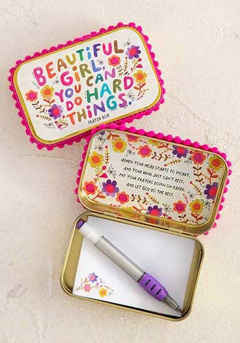 Beautiful Girl Prayer Box