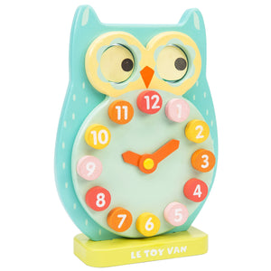 Wooden Blink Owl Clock