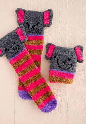 Elephant Cozy Sock
