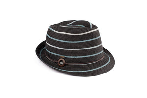 Black Denim Fedora