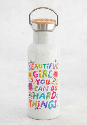 Beautiful Girl Traveler Bottle