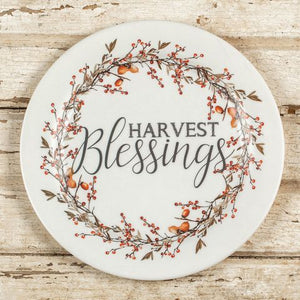 "10"" Harvest Blessings Plate"