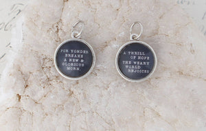 [CHRISTMAS] Double-Sided Charm Necklace - A Thrill of Hope