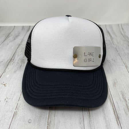Lake Girl Stamped Trucker Hat