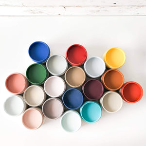 Country Chic Paint - All-in-One Chalk-Style Paint (4 oz) - 30+ Colors!