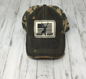 Born to Hunt Hat