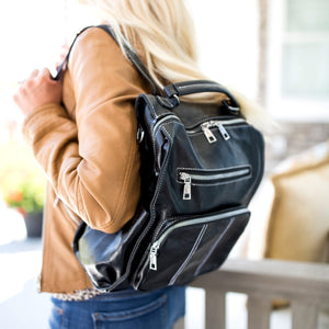 Convertible Backpack Handbag - Two Colors!