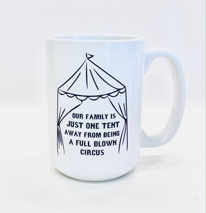Ceramic Mug - Full Blown Circus