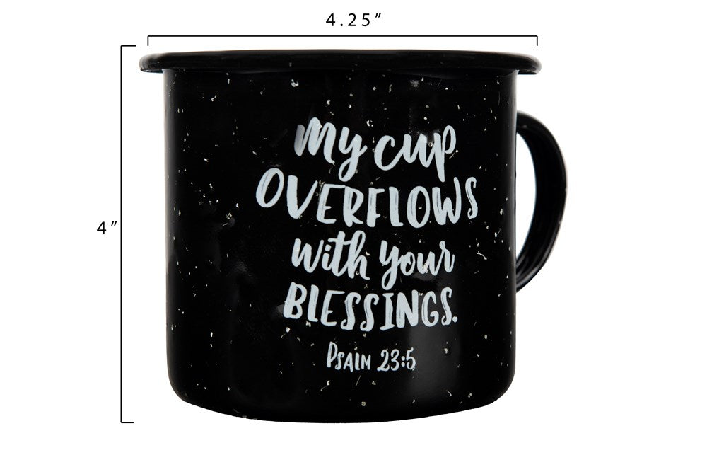 Christian Enameled Mugs