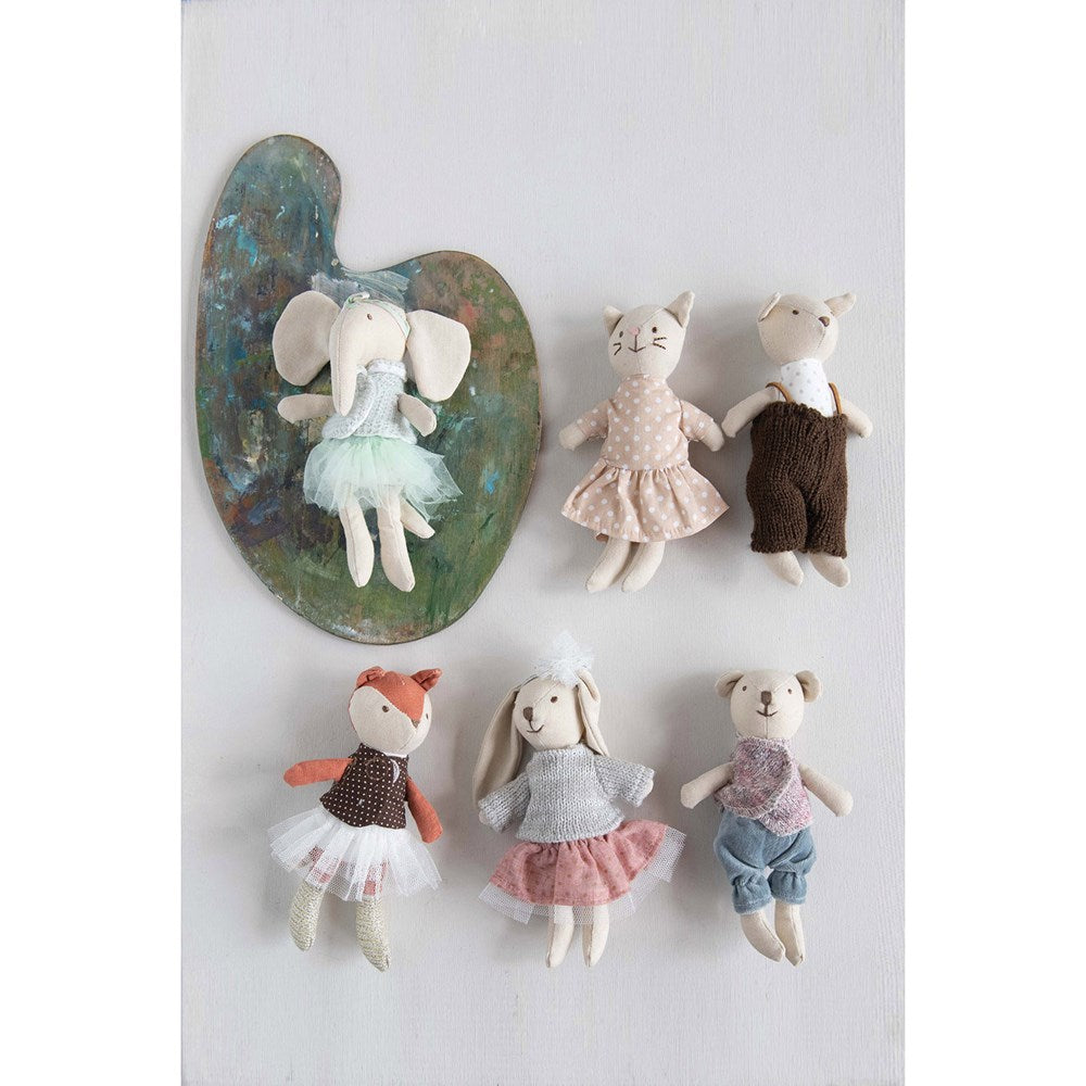 Cotton Linen Mini Animals