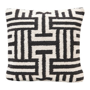 Abstract Woven Pillow