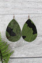 Camouflage Hide Earrings