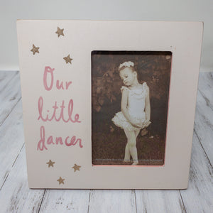 Plaque Frame - Our Little Dancer