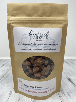 Vanilla Cinnamon Roasted Almonds-5oz bag