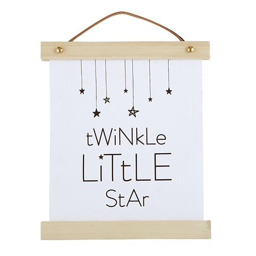 Canvas Sign - Twinkle Little Star