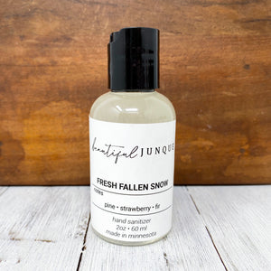 Mini Hand Sanitizer - Fresh Fallen Snow