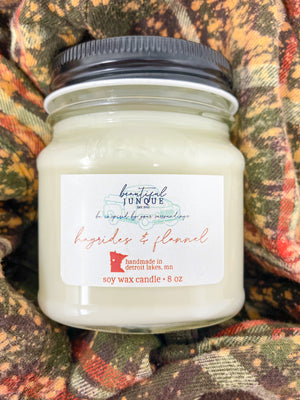 Hayrides & Flannels Candle-8 oz
