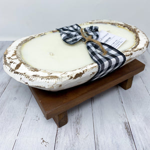 Frasier Fir Dough Bowl Candle