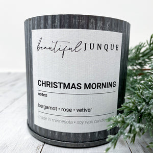 Christmas Morning Tin Candle