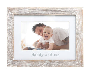 Daddy and Me Sentiment Frame