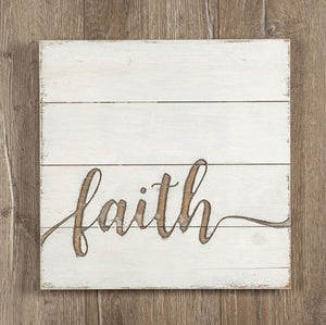 Faith Shiplap Sign