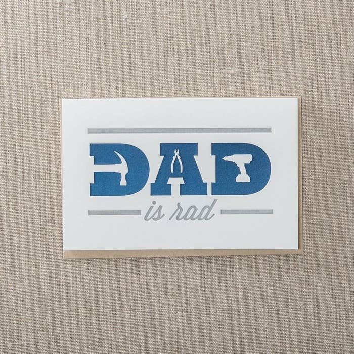 Pike St. Press - Dad Is Rad Card