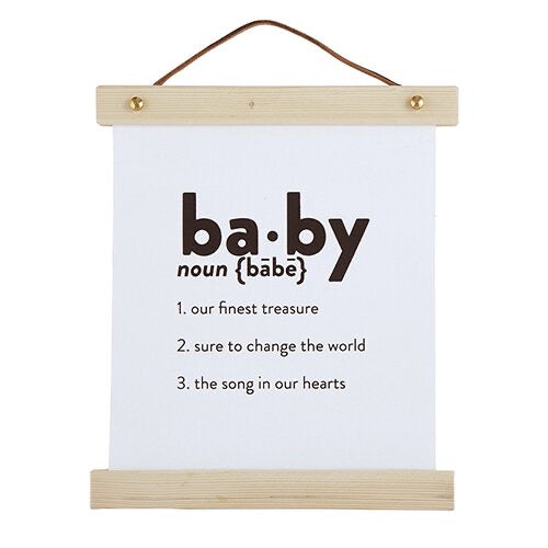 Canvas Sign - Baby