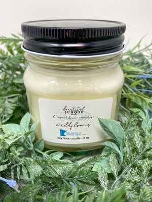 Wildflower Candle-8 oz