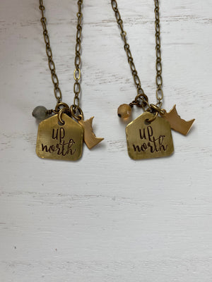 Up North MN Charm Necklace