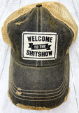 Distressed Trucker Cap - Welcome to the Show