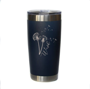 "20 oz ""Wish"" Engraved Mug (Assorted Colors)"