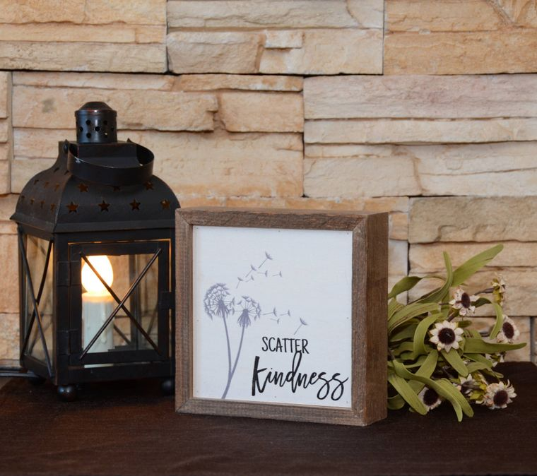 Scatter Kindness Sign