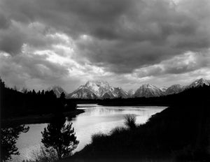 Clouds Over Tetons