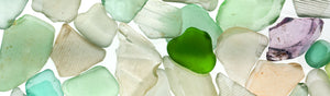 Light Green Beach Glass