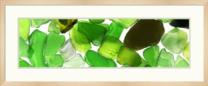 Green Beach Glass