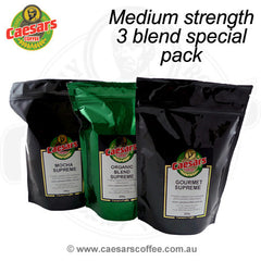 Medium strong 3 Blend Special Pack - Save 10%
